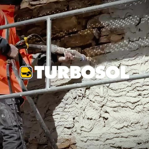 Turbosol TX20 Plastering Machine