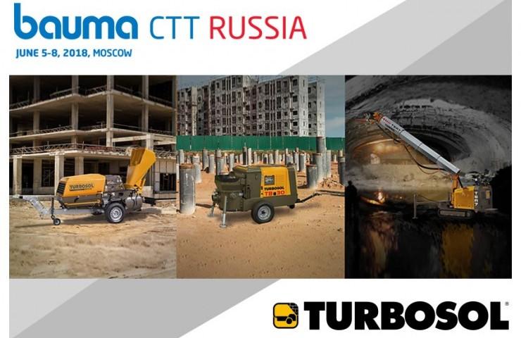 Turbosol au Bauma CTT Russie - 05-08 Juin, Moscou