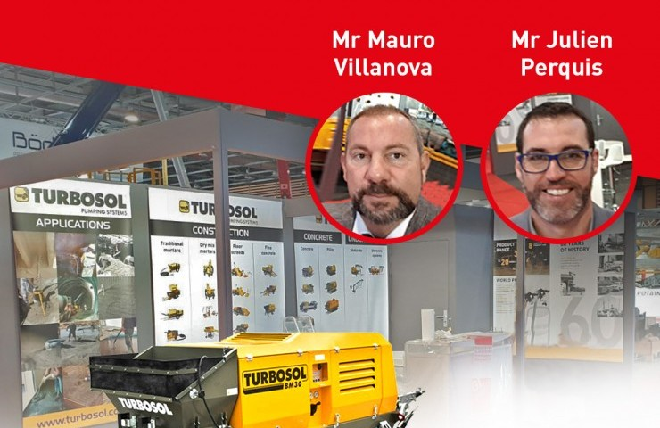 Visit Turbosol's stand at Batimat 2019!