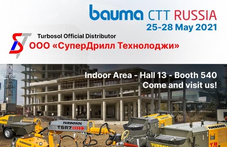 Turbosol at Bauma CTT Russia 2021 - May 25-28, Moscow