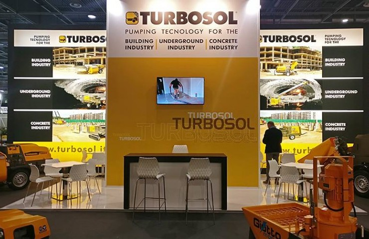 Turbosol at Batimat - Le Salon International de la Construction 2017