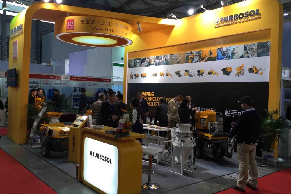Shanghai Exhibition: Turbosol draws positive balance