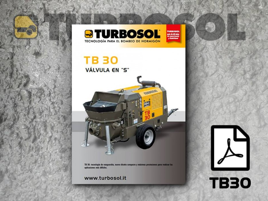 Brochure of Turbosol TB30