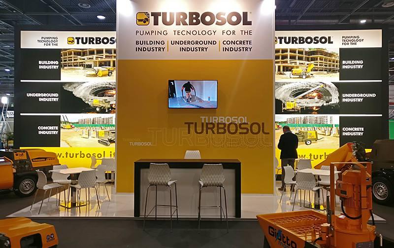 Turbosol at Batimat - Le Salon International de la Construction 2017