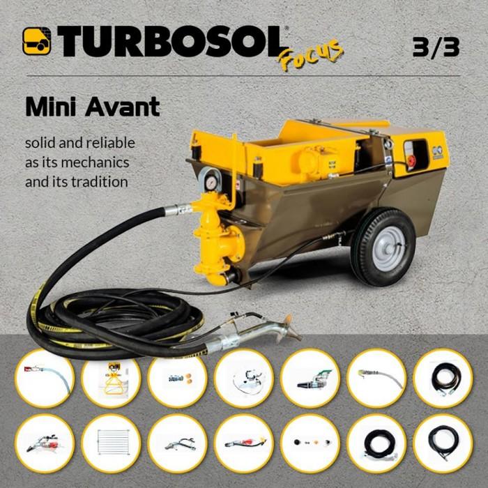 Mini Avant: power, security, reduced maintenance