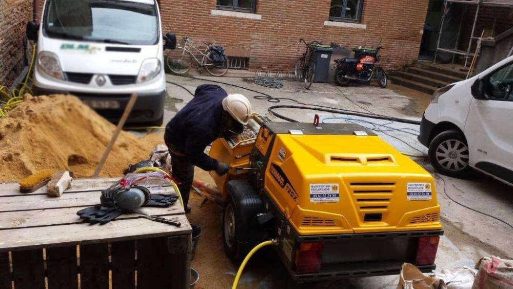 Turbosol T20X on site in Toulouse (F)