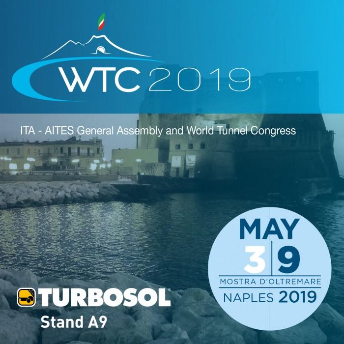 Turbosol a WTC Napoli 2019, 3-9 maggio, Mostra d'Oltremare, Napoli