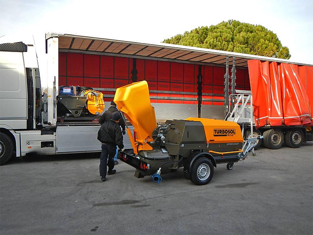 Turbosol TB 50, T20X e Transmat 27.45: nuova spedizione verso i cantieri più difficili del mondo