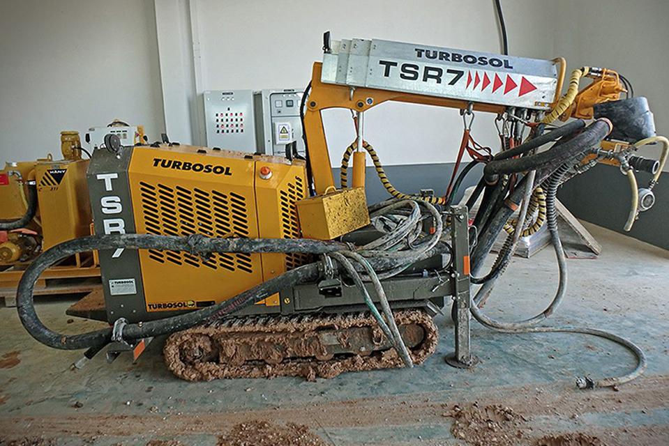 TSR7 on the jobsite (Thailand)