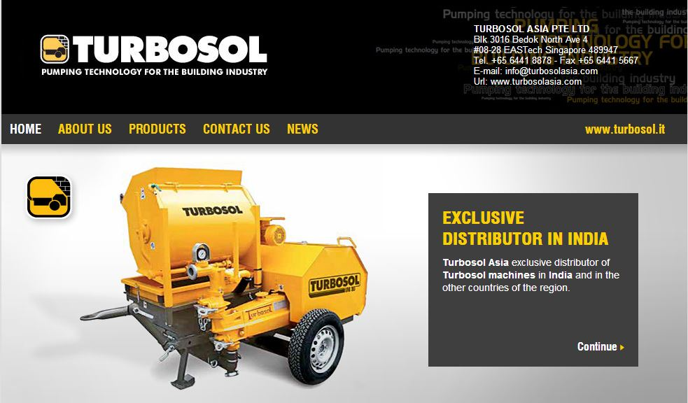 Turbosol Asia exclusive distributor in India
