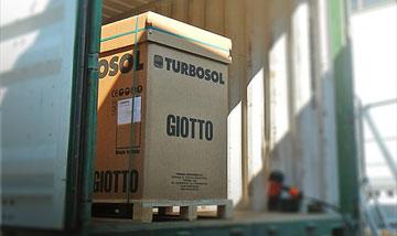 Giotto in Asia