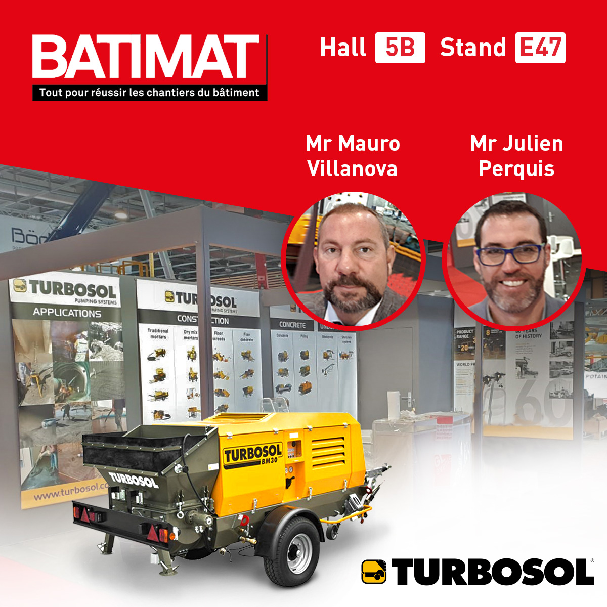 Visita lo stand Turbosol a Batimat 2019!