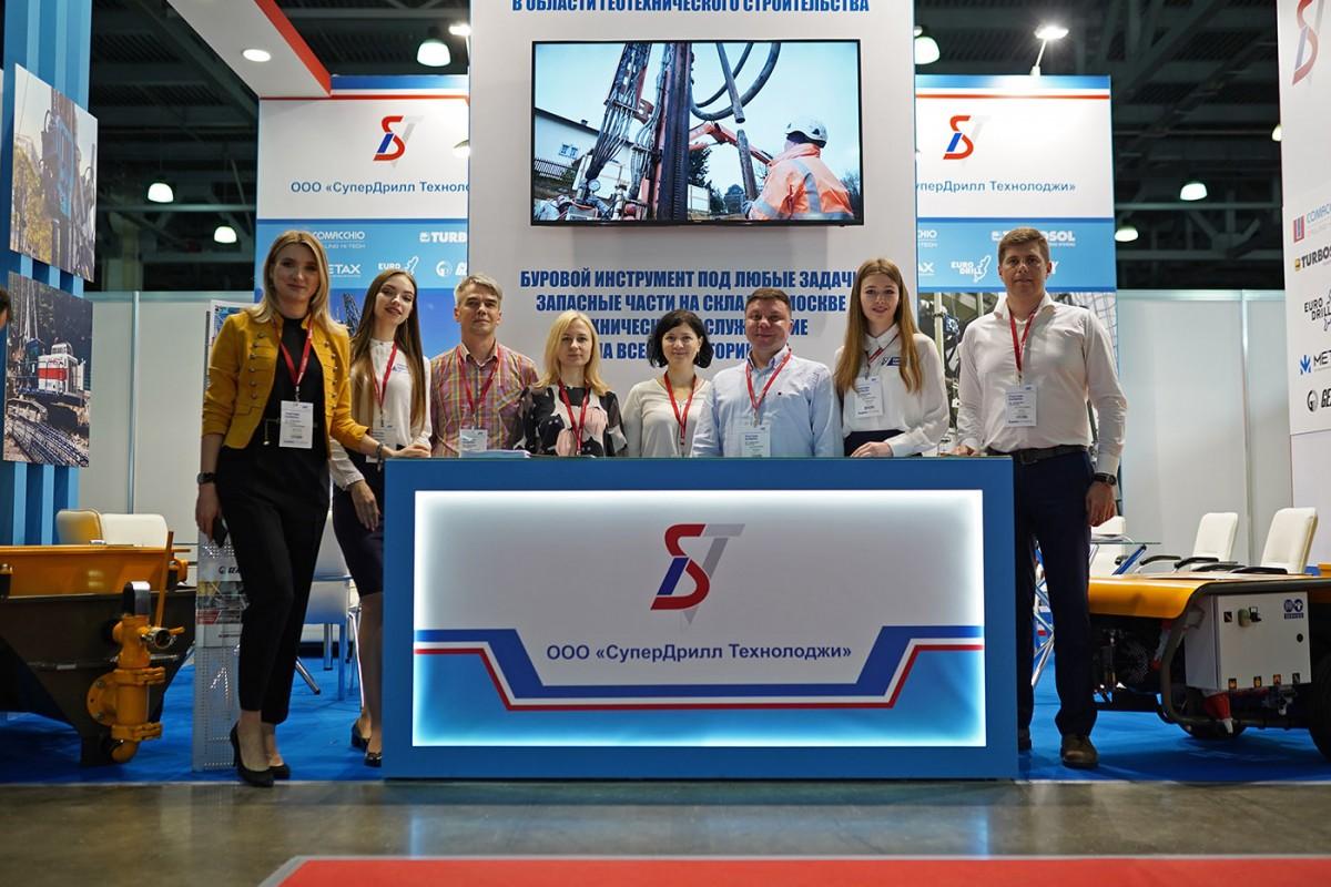 Grande successo di pubblico a Bauma Russia 2021